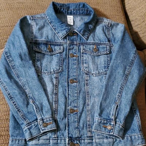 Carters kid denim jacket size 10 euc